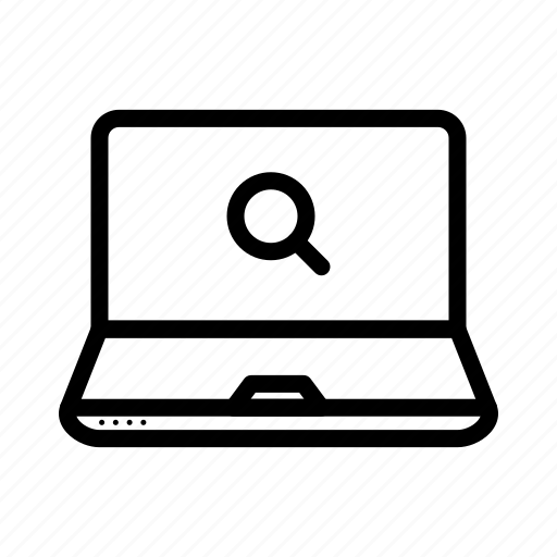 computer, device, laptop, monitor icon