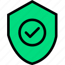 lock, locked, protect, safe, secure, security, shield icon