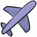 aeroplane, airbus, aircraft, airjet, airplane icon
