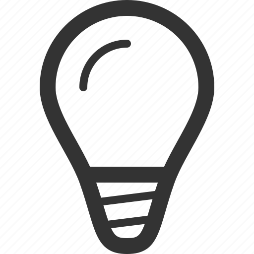 bright, bulb, idea, innovation, light bulb, thought icon