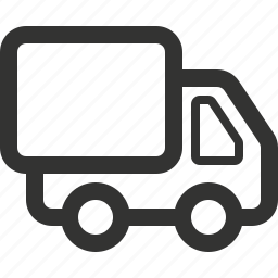 delivery, moving, moving truck, semi truck, truck, vehicle icon