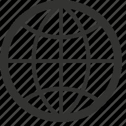 earth, global, globe, internet, internet globe, world, www icon
