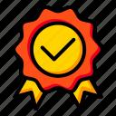 badge, certificate, guarantee, label