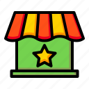 official, online shop, store, official store icon