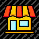 online, online shop, store, online store icon
