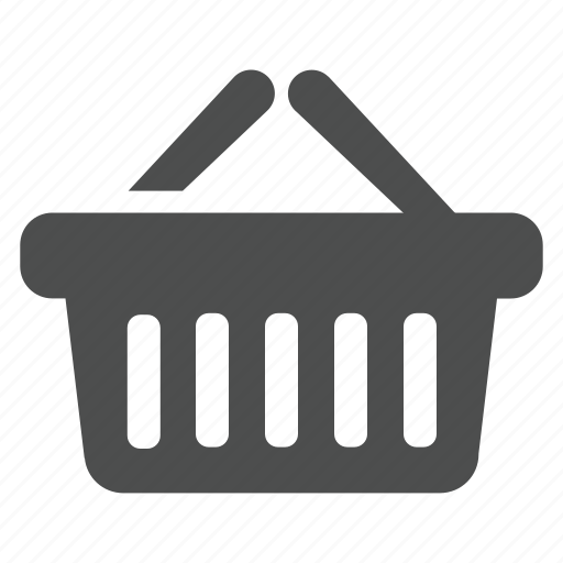 basket, buy, cart, empty icon