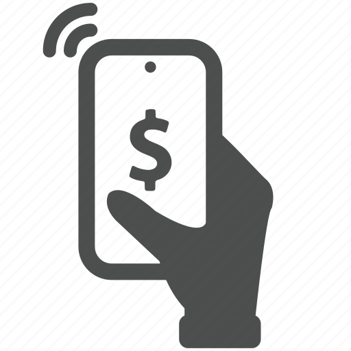 business, buy, mobile, pay, phone icon
