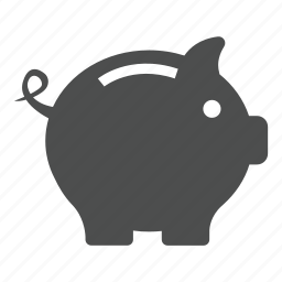 bank, business, cash, finance, money, piggy, save, shopping icon