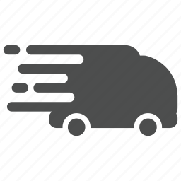 delivery, ecommerce, logistics, shipping, shopping, truck, van icon