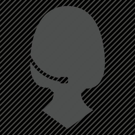 call, communication, person, profile, support icon