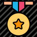 awards, medal, badge, award, reward, star, rating