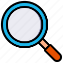 search, find, magnifier, zoom, glass, seo