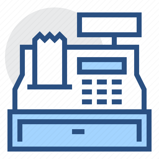 box, cashbox, checkout, money, order, register, shopping icon