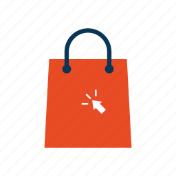 bag, buy, cart, click, ecommerce, shop icon