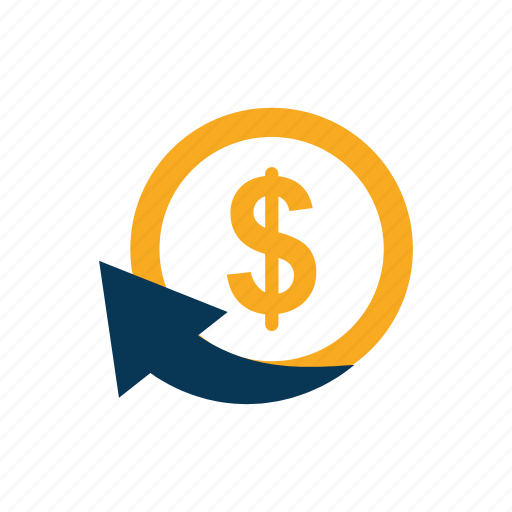 bank, cash back, chargeback, ecommerce, money icon