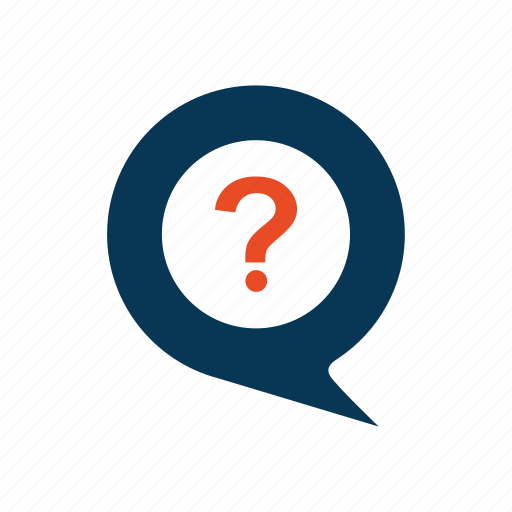 ecommerce, faq, help, message icon