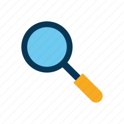 ecommerce, magnifying glass, search icon