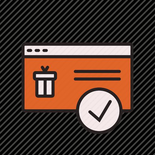 business, commerce, confirmation, e icon