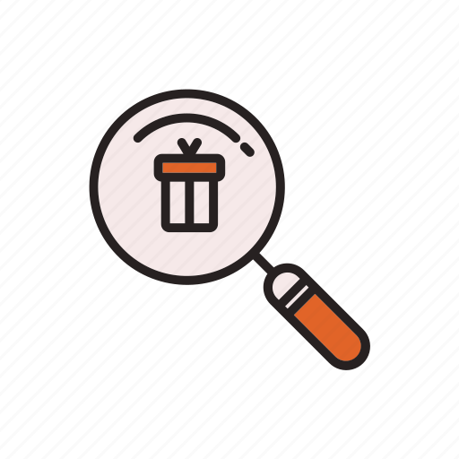 business, commerce, e, product, search icon
