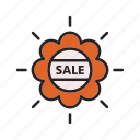 business, commerce, e, sale icon