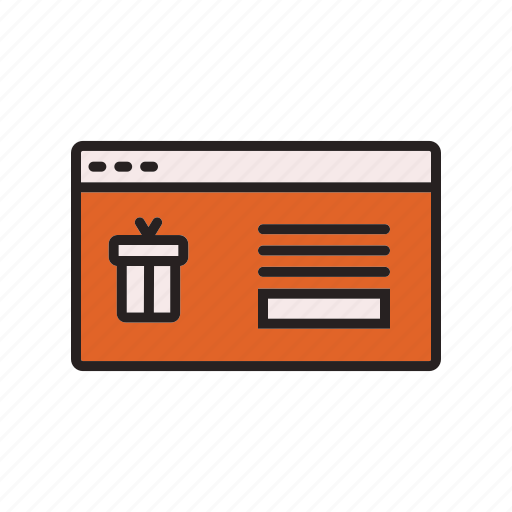business, commerce, e, item, select icon