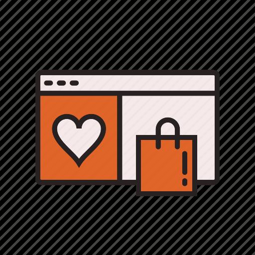 business, commerce, e, list, wish icon