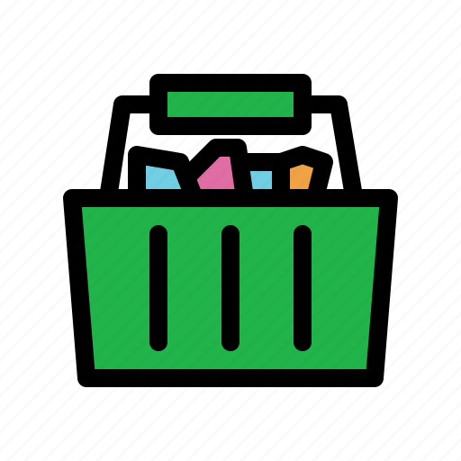 basket, buy, checkout, purchases, retail icon