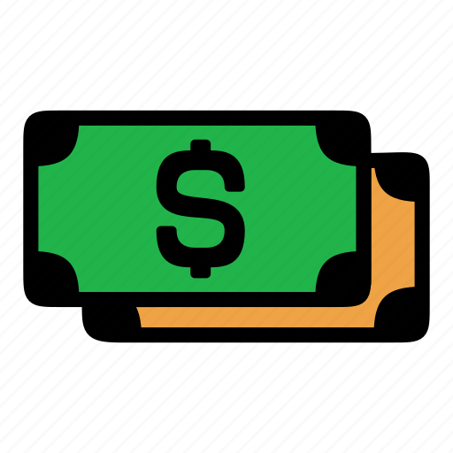 cash, dollar, money, payment icon