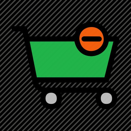 cart, checkout, delete, shopping icon