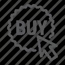 buy, click, commerce, e, marketing, now, shop icon