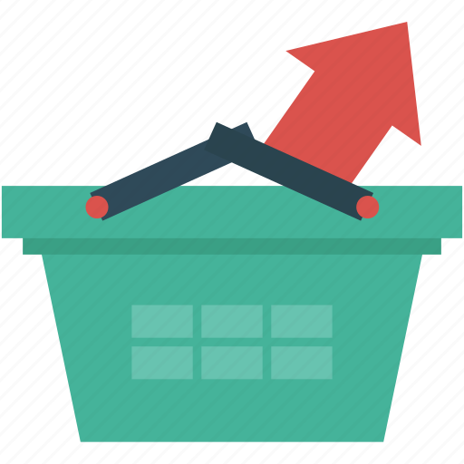basket, cart, checkout, ecommerce, finance, shopping icon