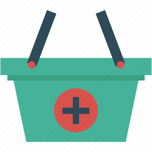 add, bag, basket, cart, ecommerce, plus, sale icon