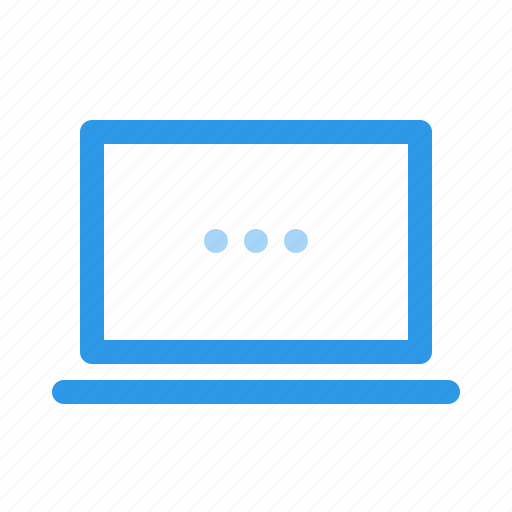 computer, laptop, monitor, pc icon