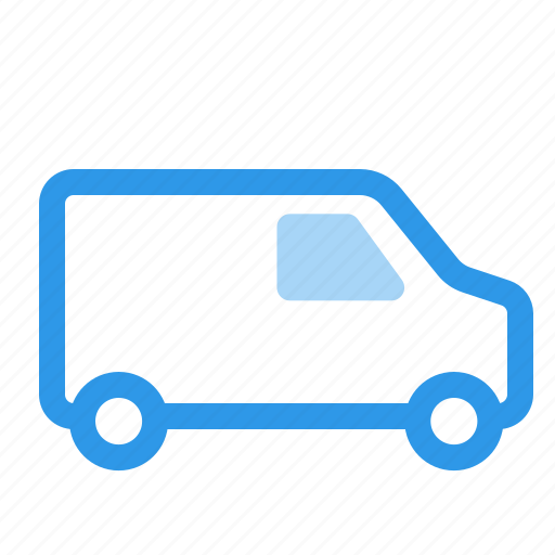 Delivery, shipping, transport, van icon - Download on Iconfinder