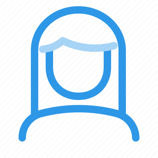 acount, female, user, woman icon