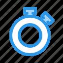 alarm, alert, stopwatch, timer icon