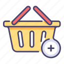 add, basket, buy, cart, e, sale, store
