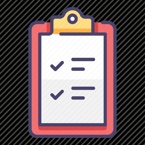 Check, checklist, document, form, list, mark icon - Download on Iconfinder
