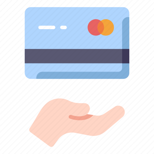 buy, card, credit, hand, money, pay, payment icon