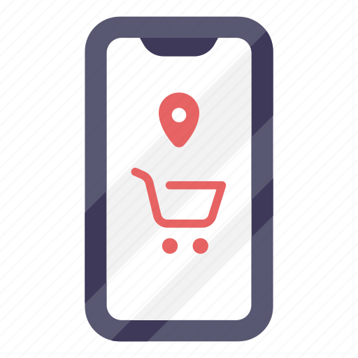 buy, cart, location, online, shop, shopping, store icon