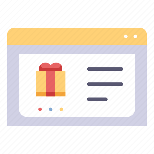 Gift, internet, shop, shopping, store, web, website icon - Download on Iconfinder