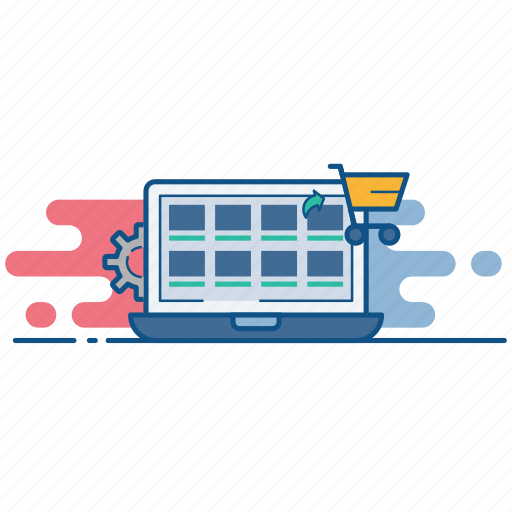 management, marketplace, online, shop, store icon