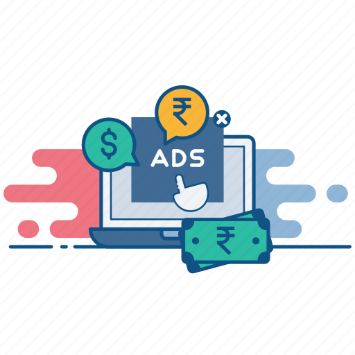 advertising, click, digital, pay, per, ppc, seo icon