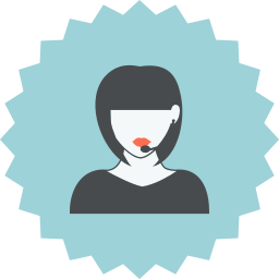 consultant, customer support, female, girl, headset, support, woman icon
