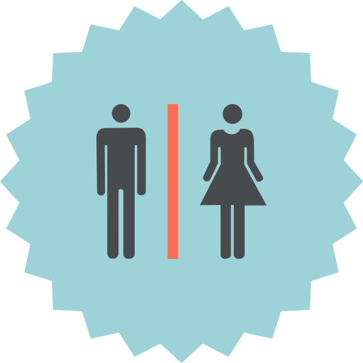 changing room, female, locker, male, rooms icon