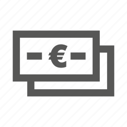 cash, currency, euro, finance, financial, money, notes icon