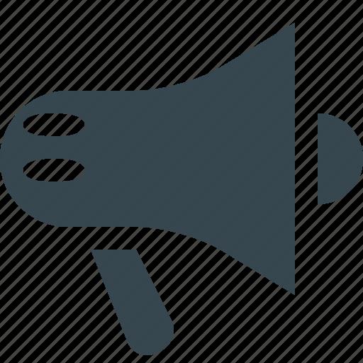advertising, loud-hailer, loudspeaker, marketing, mouthpiece, promotion, speaker icon