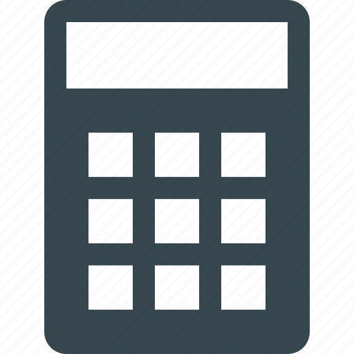 accounting, calc, calculate, calculation, calculator, mathematics, numbers icon