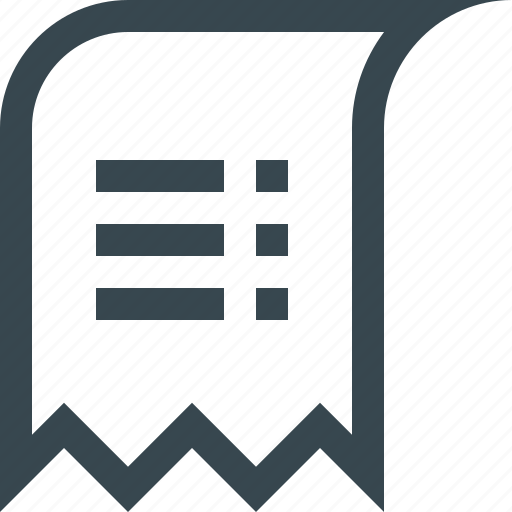 check, cheque, commerce, ecommerce, payment, price, sale icon