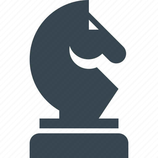 business, chess, finance, horse, marketing, seo, strategy icon